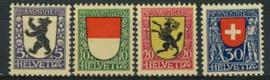 Zwitserland, michel 209/12, xx