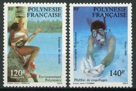 Polynesie, michel 530/31, xx