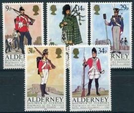 Alderney, michel 23/27, xx