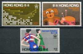 Hong Kong, michel 350/52, xx