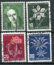 Zwitserland, michel 475/78, o