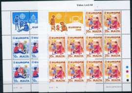 Malta, michel kb 816/17, xx