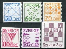Zweden, michel 1354/59, xx