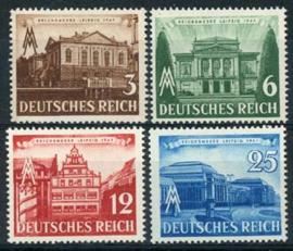 Duitse Rijk, michel 764/67, xx