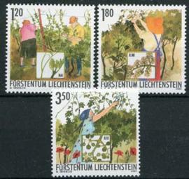 Liechtenstein, michel 1316/18, xx