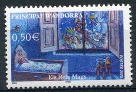 Andorra Fr., michel 625, xx