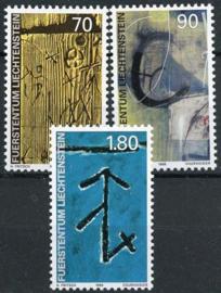 Liechtenstein, michel 1220/22, xx