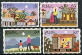 St.Kitts, michel 122/25, xx