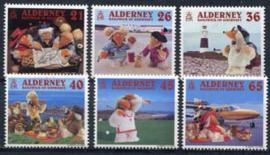 Alderney, michel 151/56, xx