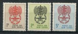 Papua N.Guinea, michel 40/42, xx