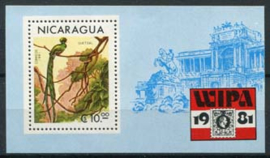 Nicaragua, michel blok 137, xx