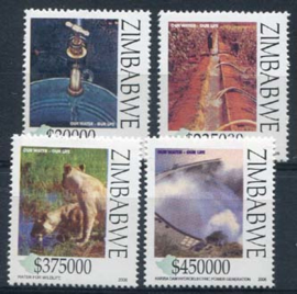 Zimbabwe, michel 840/43, xx