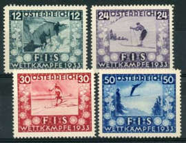 Oostenrijk, michel 551/54, x