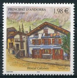 Andorra Fr., michel 637, xx