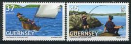 Guernsey, michel 1131/32, xx