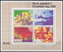 Noorwegen, michel blok 5, xx