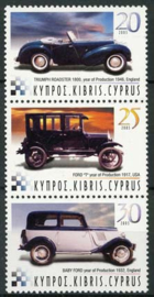 Cyprus, michel 1010/12, xx