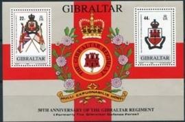 Gibraltar, michel blok 12, xx