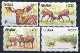 Ghana, michel 1060/63, xx