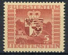 Liechtenstein, michel 252, xx