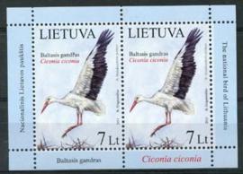 Litouwen, michel kb 1130, xx