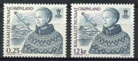 Groenland, michel 369/70, xx
