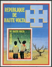 Haute Volta, michel blok 15, xx