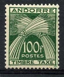 Andorra Fr., michel p 41 ,xx