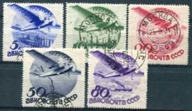 Sovjet Unie, michel 462/66 Y, o