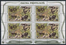 Moldavie, michel kb 50/53, xx