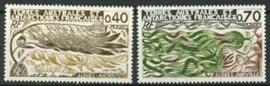 Antarctica Fr., michel 115/16, xx