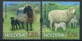 Moldavie, michel 877/78, xx