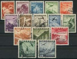 Oostenrijk, michel 598/612, o