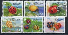 Alderney, michel 490/95, xx
