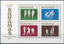Bahamas, michel blok 42, xx
