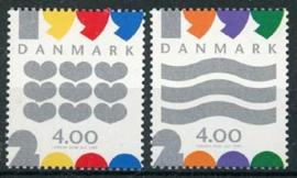 Denemarken, michel 1231/32, xx