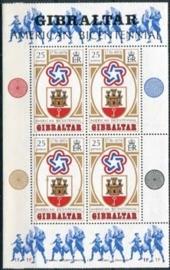 Gibraltar, michel blok 2, xx