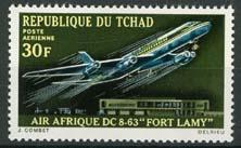Tchad, michel 317, xx