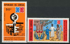 Senegal, michel 540/41, xx