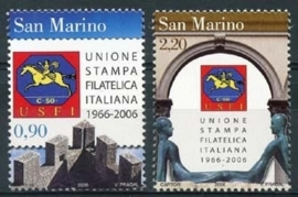 San Marino , micherl 2270/71 , xx