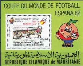 Mauretanie, michel blok 37, xx