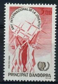 Andorra Fr., michel 362, xx