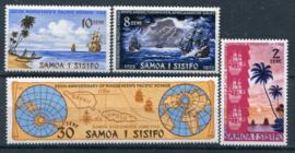Samoa, michel 258/61, xx