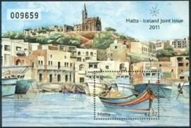 Malta , michel blok 50 , xx
