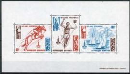 Gabon, michel blok 36, xx