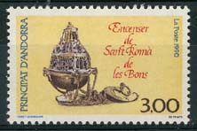 Andorra Fr., michel 413, xx