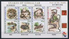 Gibraltar, michel kb 955/61, xx