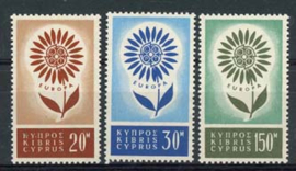 Cyprus, michel 240/42, x