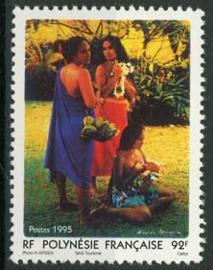Polynesie, michel 673, xx