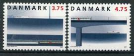 Denemarken, michel 1150/51, xx